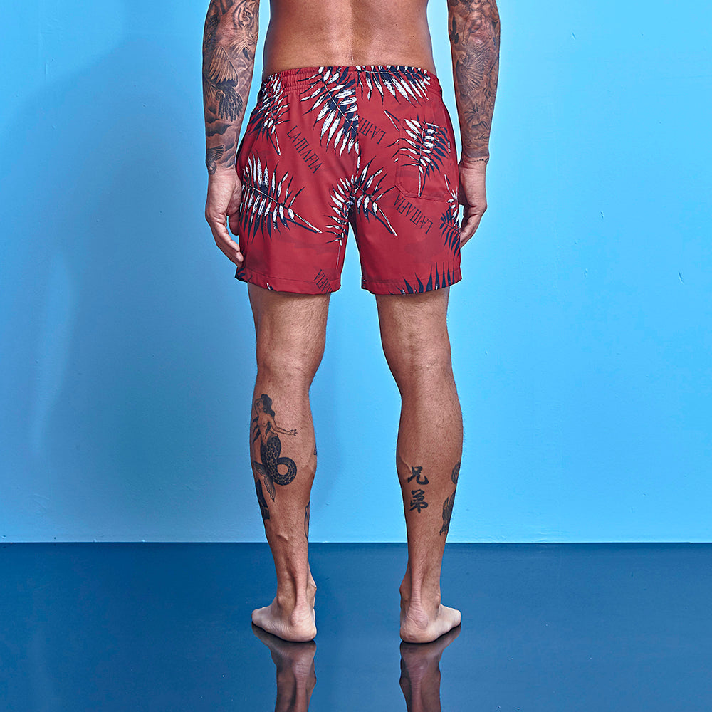 Shorts La Mafia Beachweart Tropical Street Feathers