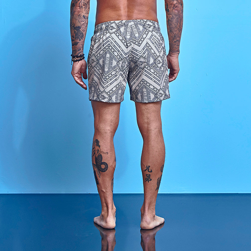 Shorts La Mafia Beachwear Tropical Street Runes