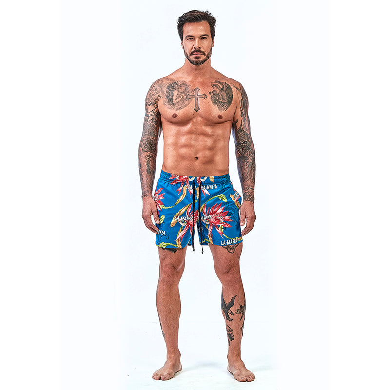 Shorts La Mafia Beachwear Tropical Street Passion