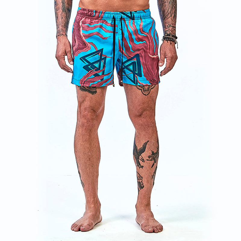 Shorts La Mafia Beachwear Tropical Street Ocean