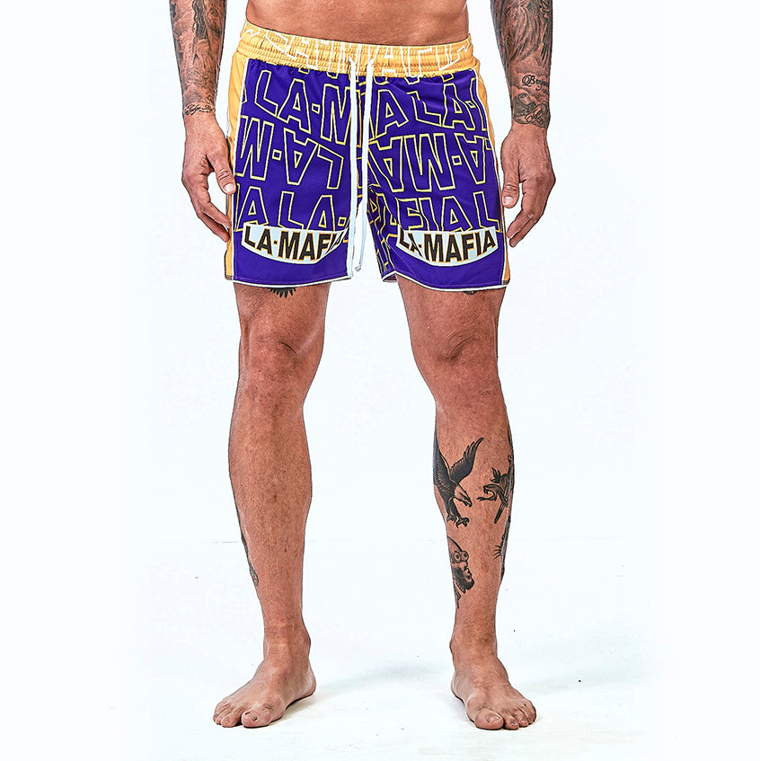 Shorts La Mafia Beachwear Tropical Street Schafter