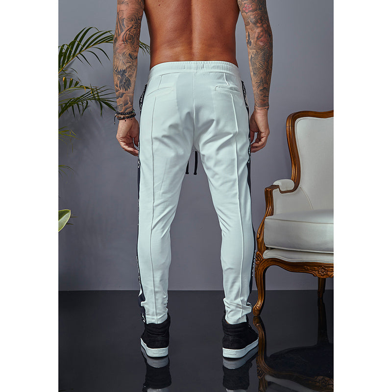 Jogger Pant La Mafia Night Out White
