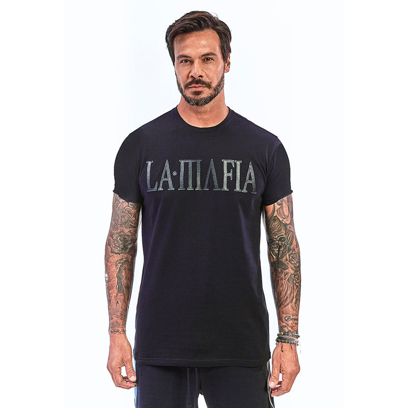 T-shirt La Mafia Night Don't Even Try Black