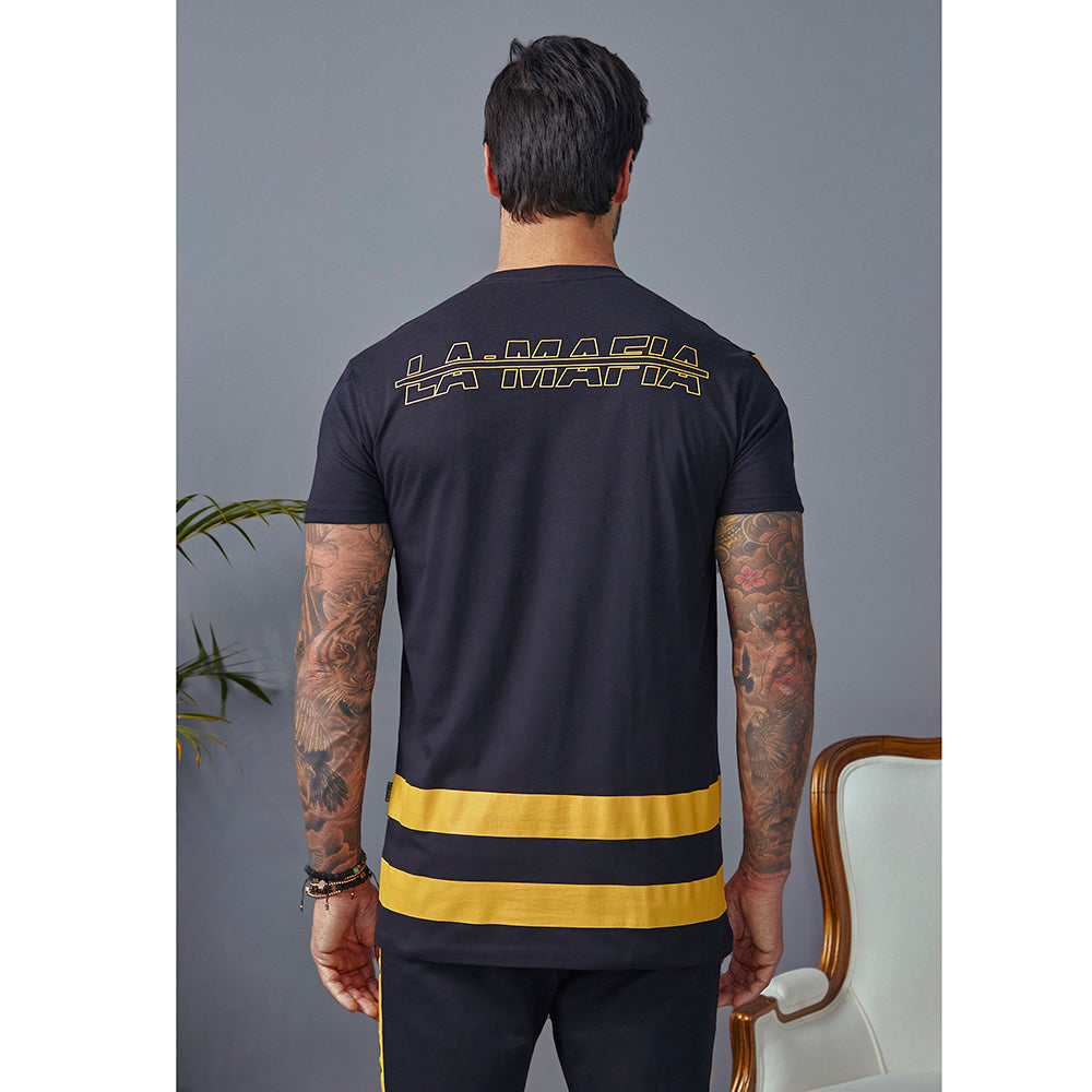 T-shirt La Mafia Racer Stripes