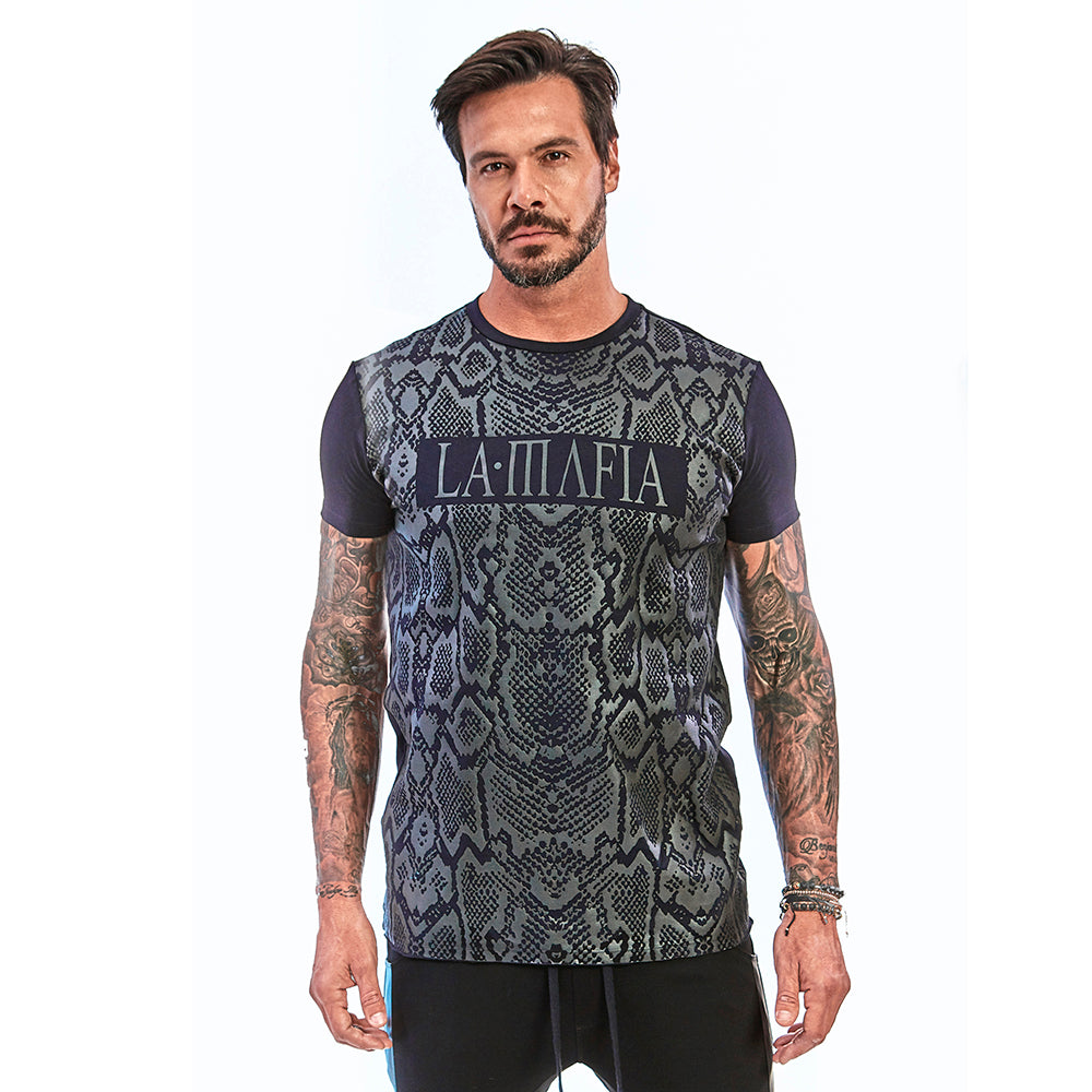 T-shirt La Mafia Night Snake