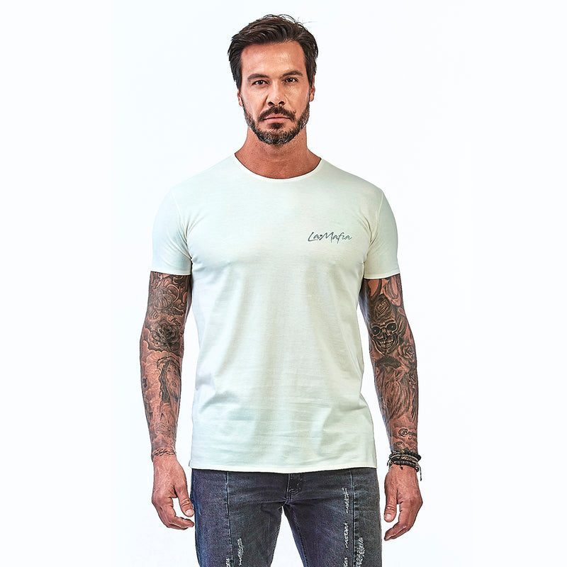 T-shirt La Mafia Essentials Summer Vibes Off White