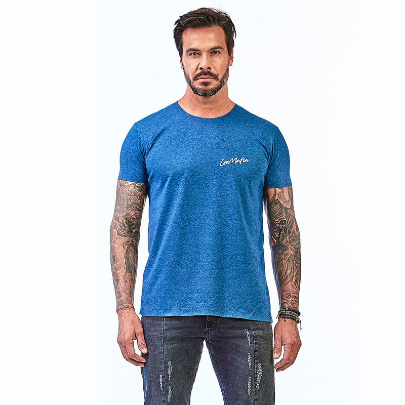 T-Shirt La Mafia Essentials Summer Vibes Blue
