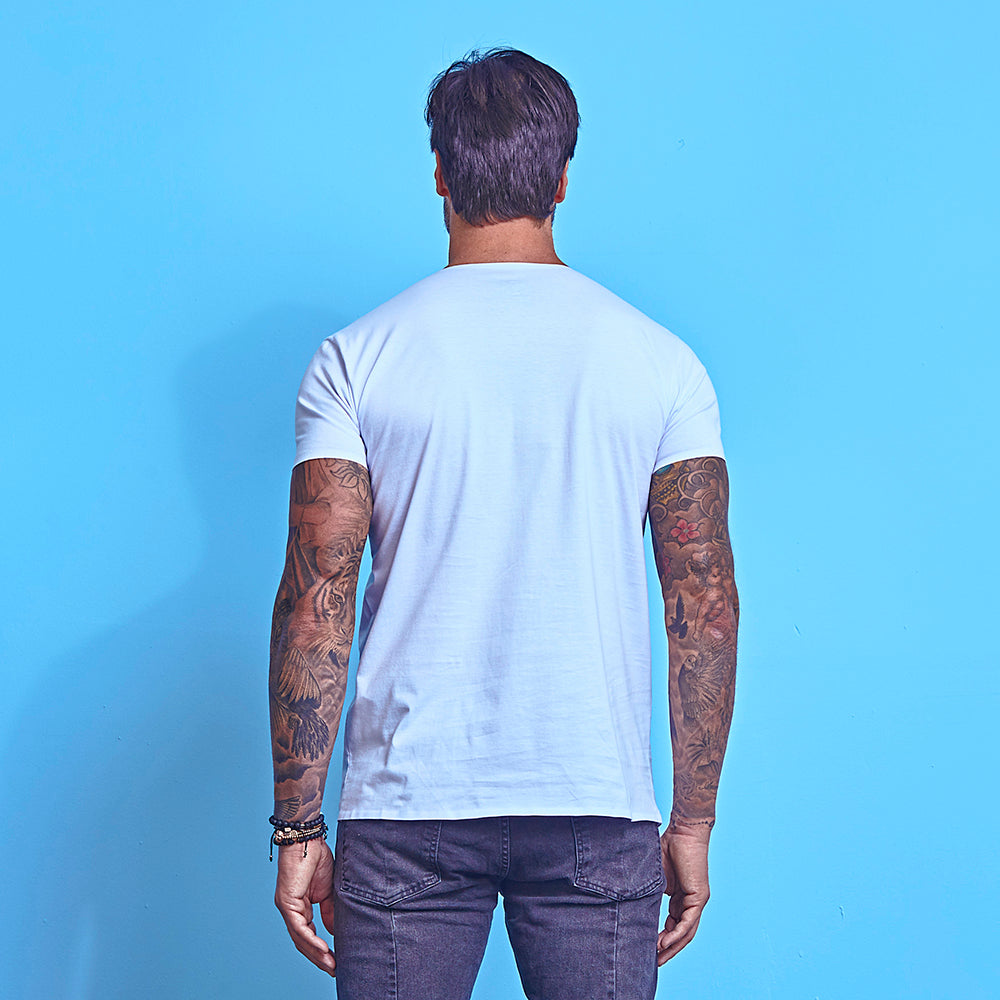 T-Shirt La Mafia Essentials Details White