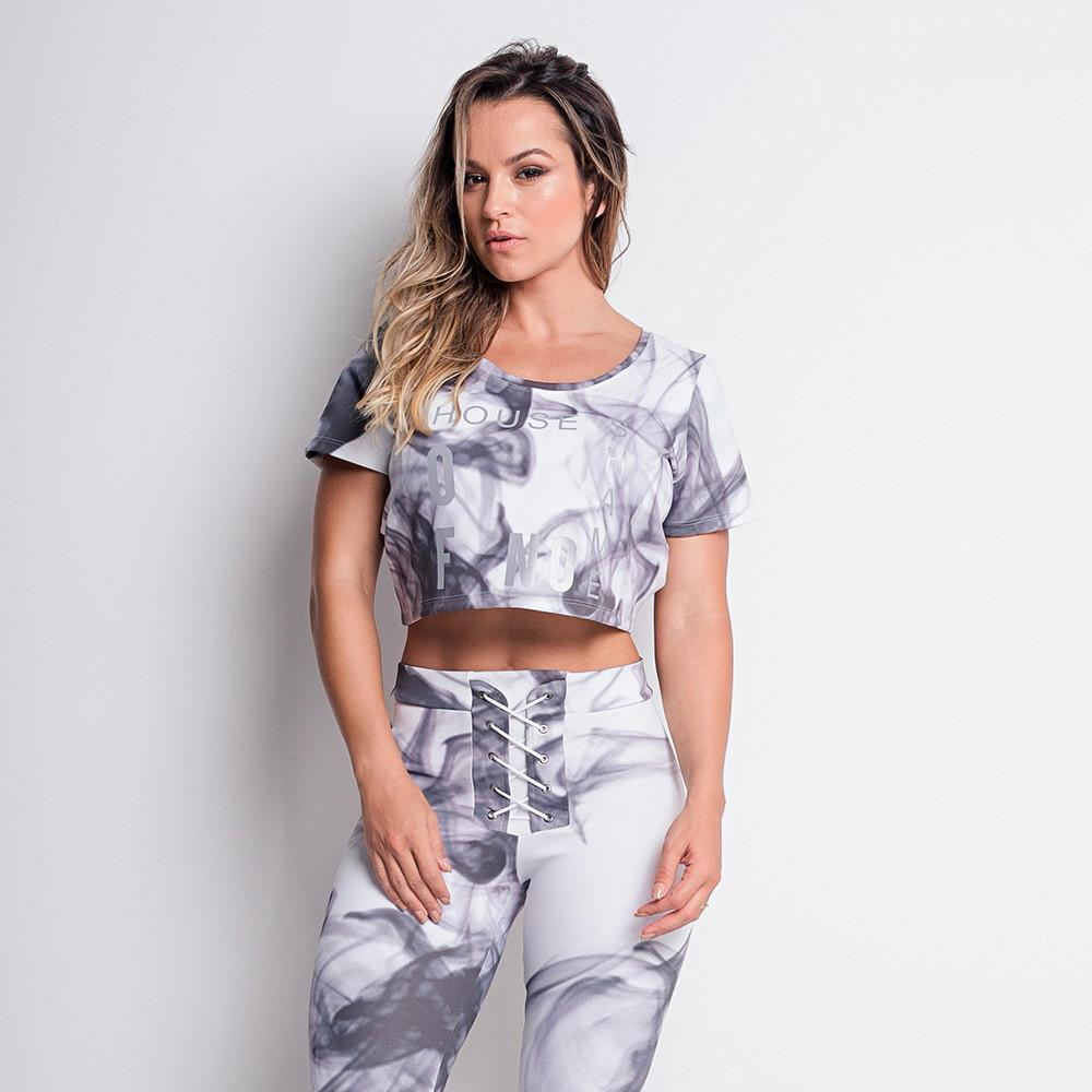 Gray Space Top