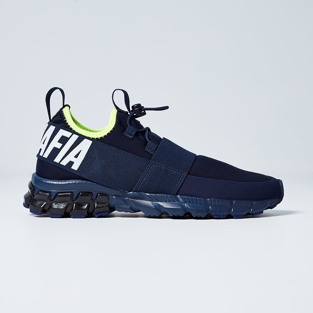 SNEAKERS SATURN LA MAFIA NAVY BLUE