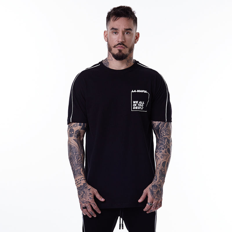 T-Shirt La Mafia Levels Black