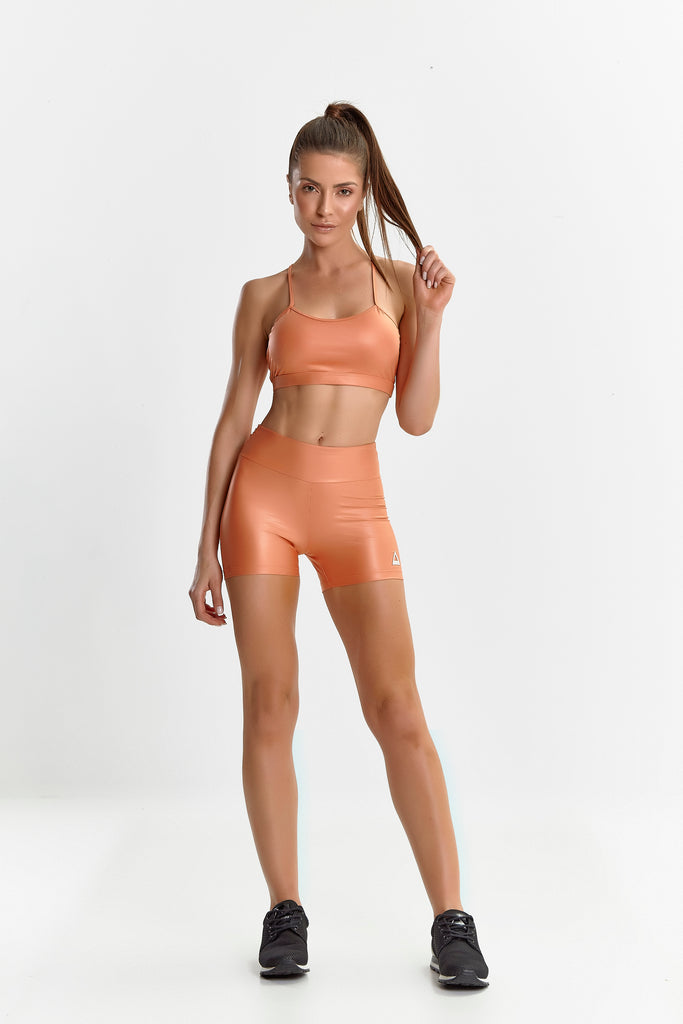 Fitness Set Glossy Orange
