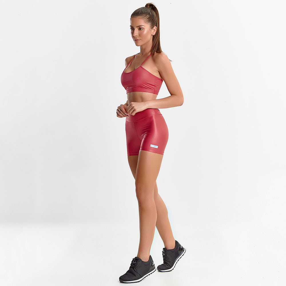 Fitness Set Glossy Hot Pink