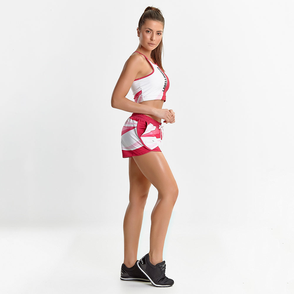 Fitness Set Neon Pink