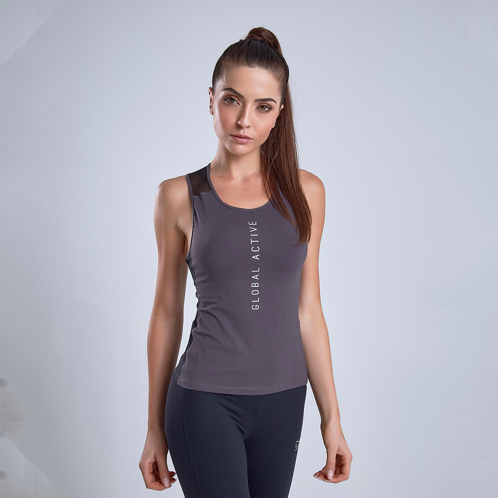 Tank Top Global Active Gray