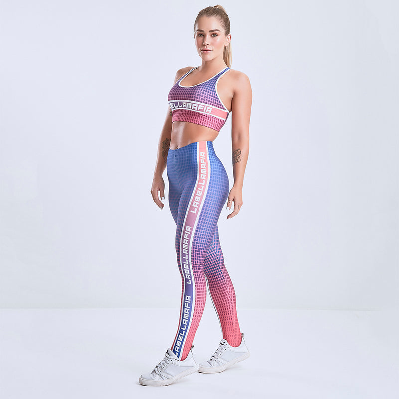 Fitness Set Printed Interstellar