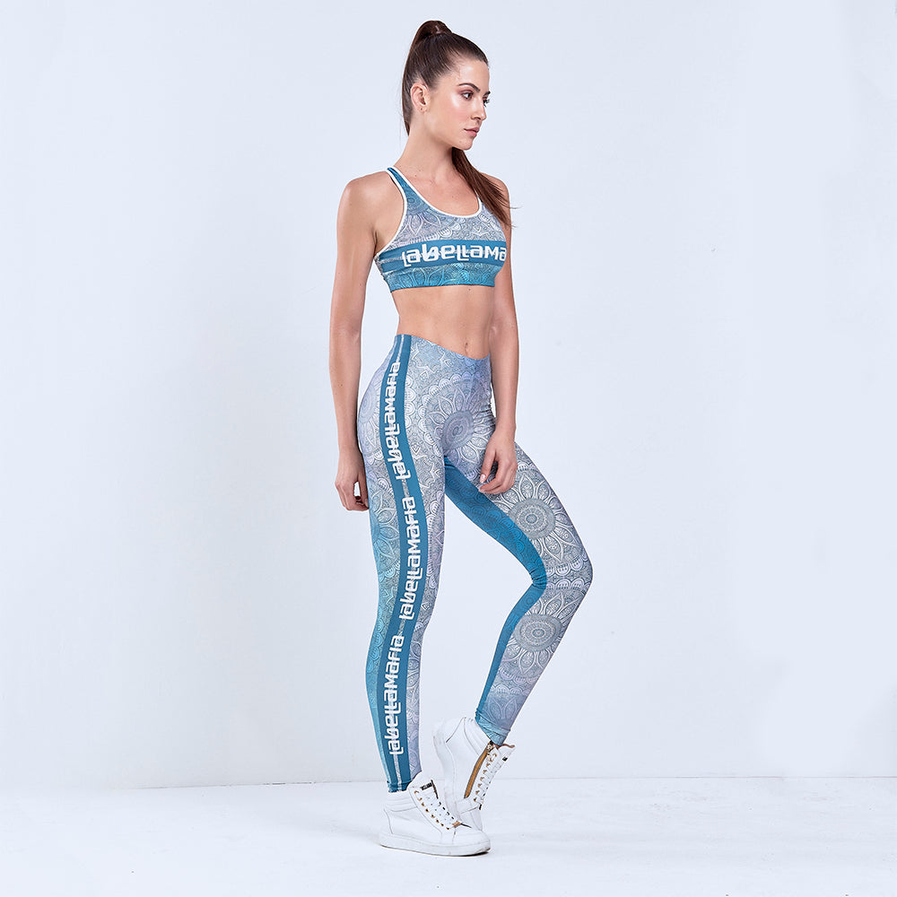 Fitness Set Printed Mandala