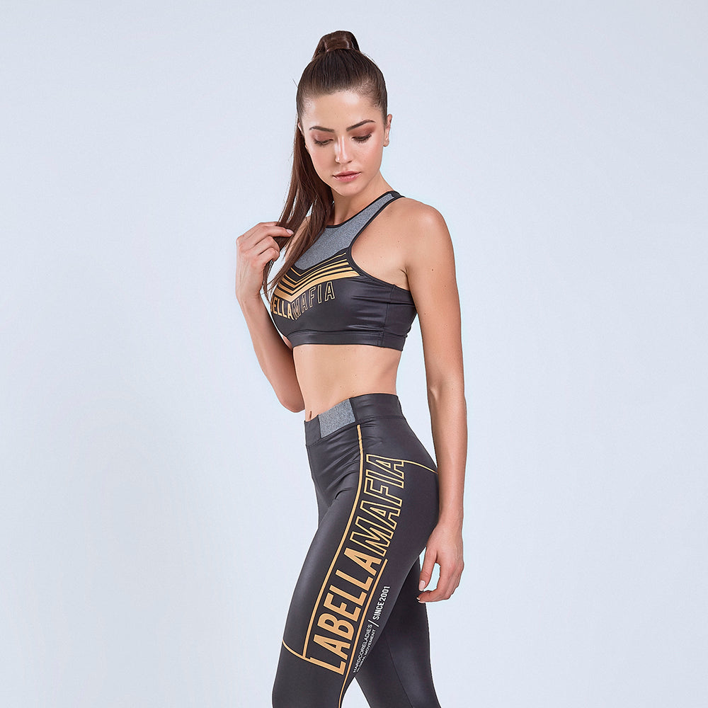 Sports Bra El Dorado Black