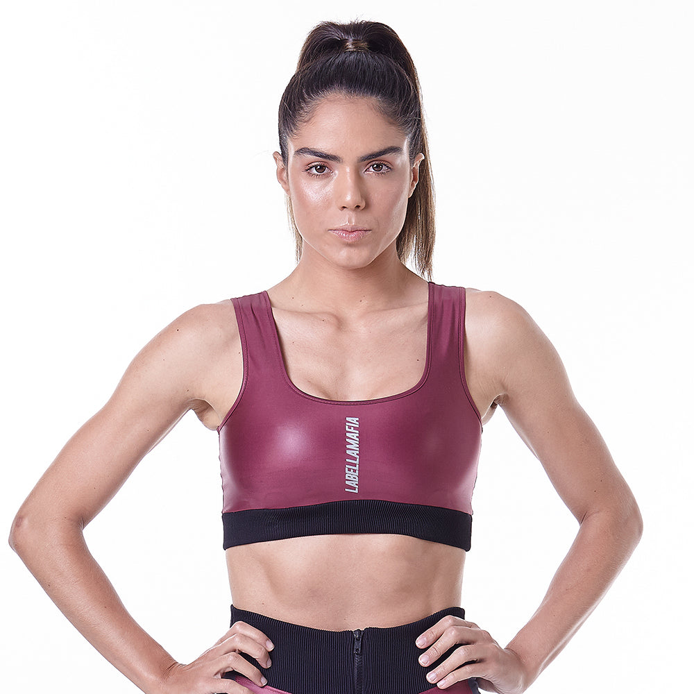 Sports Bra Hardcore Claret