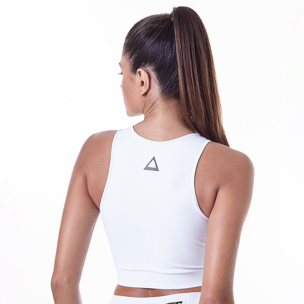 Sports Bra Essentials Lux White
