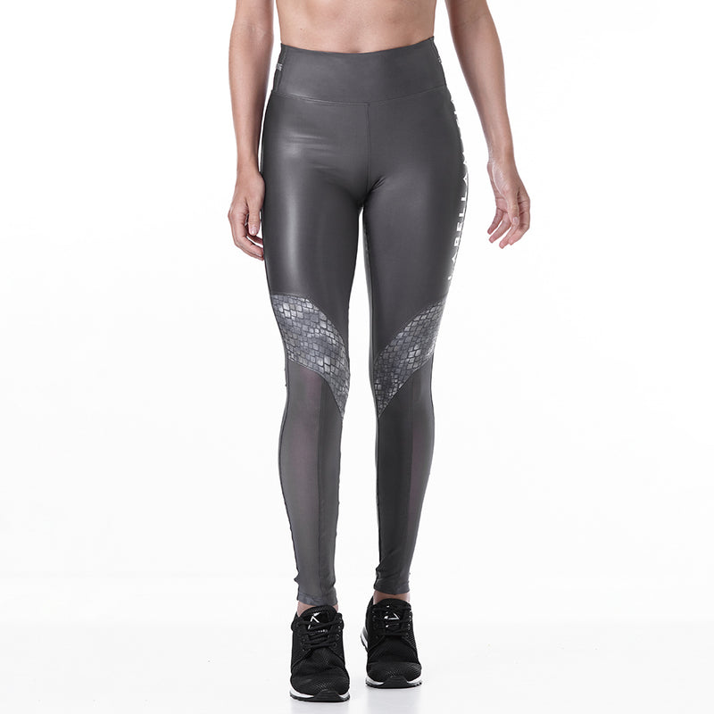 Legging Animal Print Gray