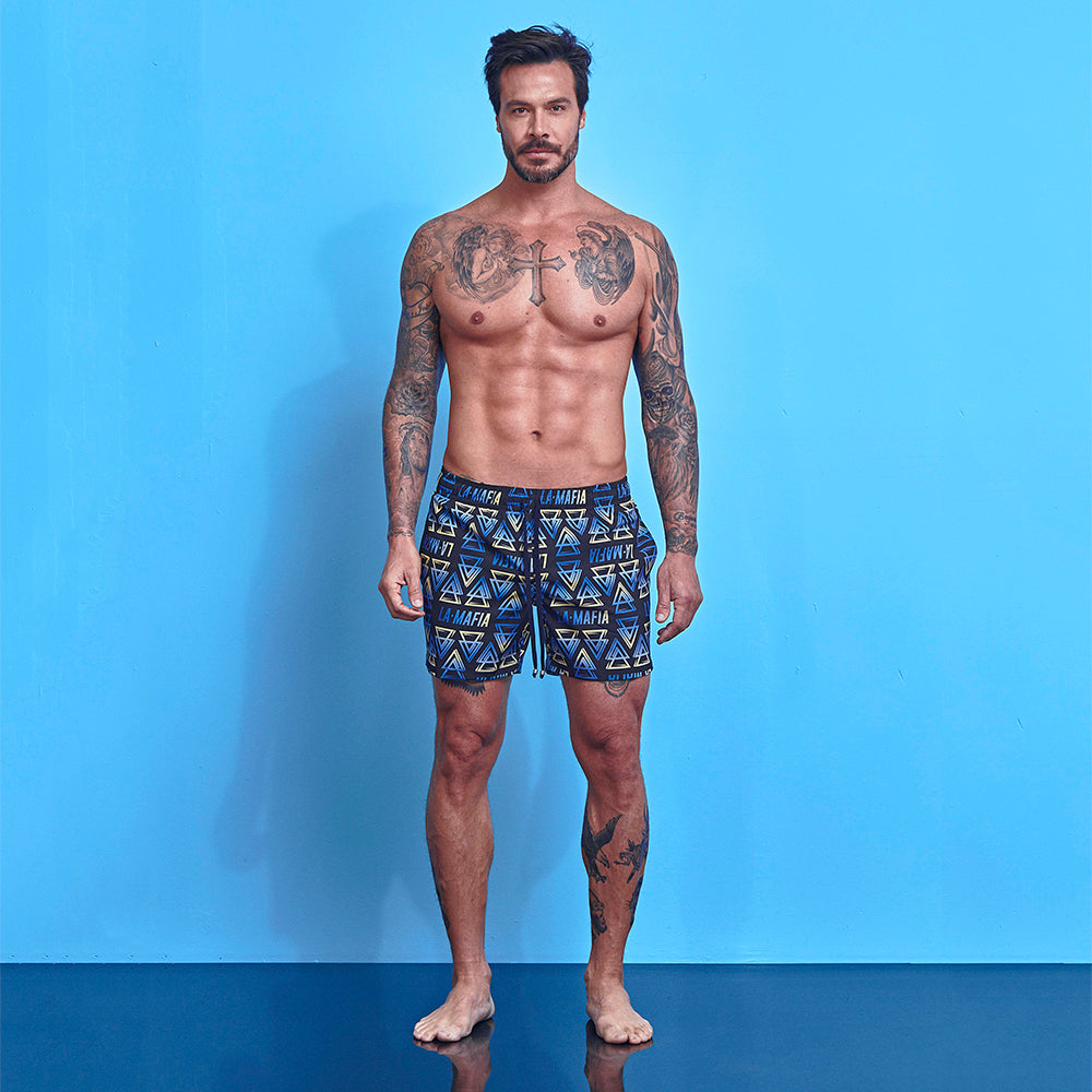 Shorts La Mafia Beachwear Tropical Street Soul