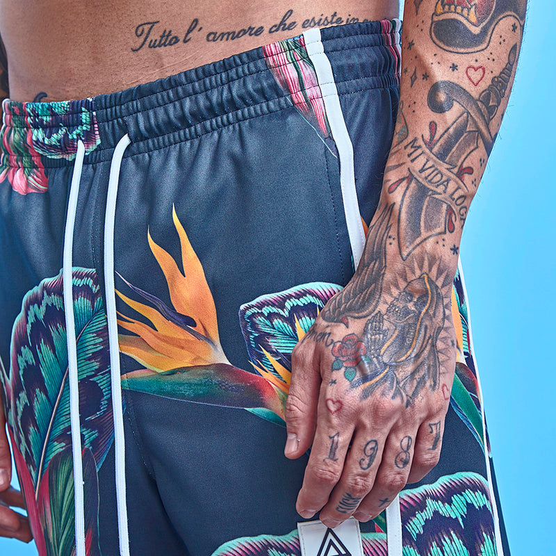 Shorts La Mafia Beachwear Tropical Street