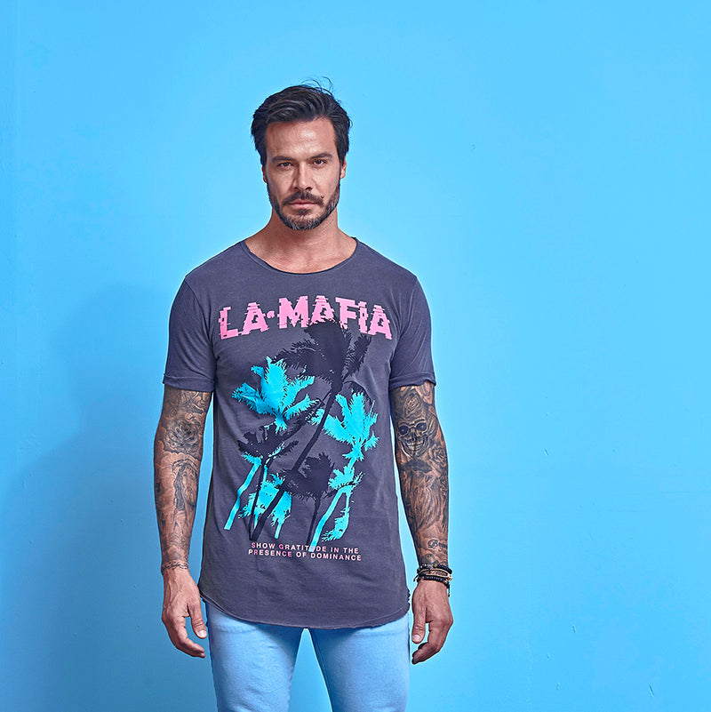 T-shirt La Mafia Tees Tropical