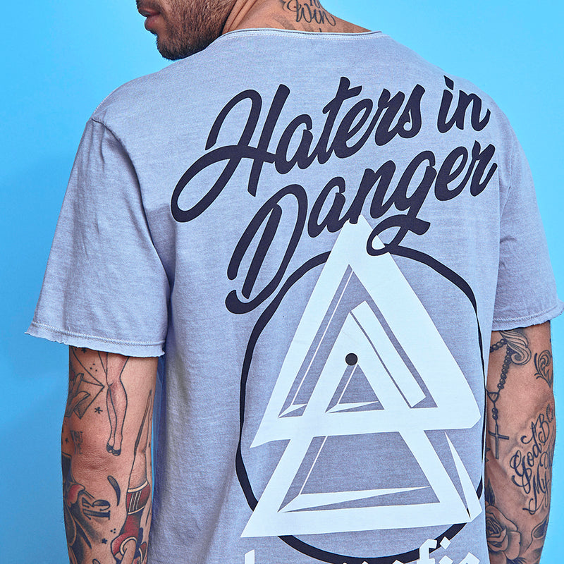 T-Shirt La Mafia Tees Hater In Danger