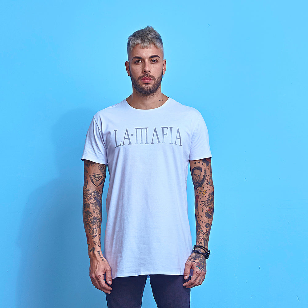 T-Shirt La Mafia Essentials Summer Vibes White