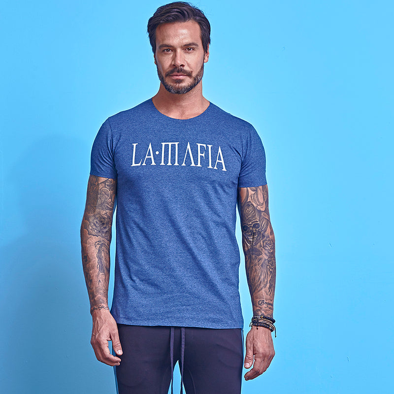 T-Shirt La Mafia Essentials Blue