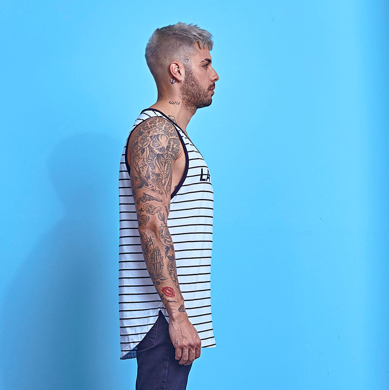Tank La Mafia Tees Stripes