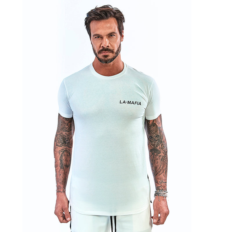 T-shirt La Mafia Night White