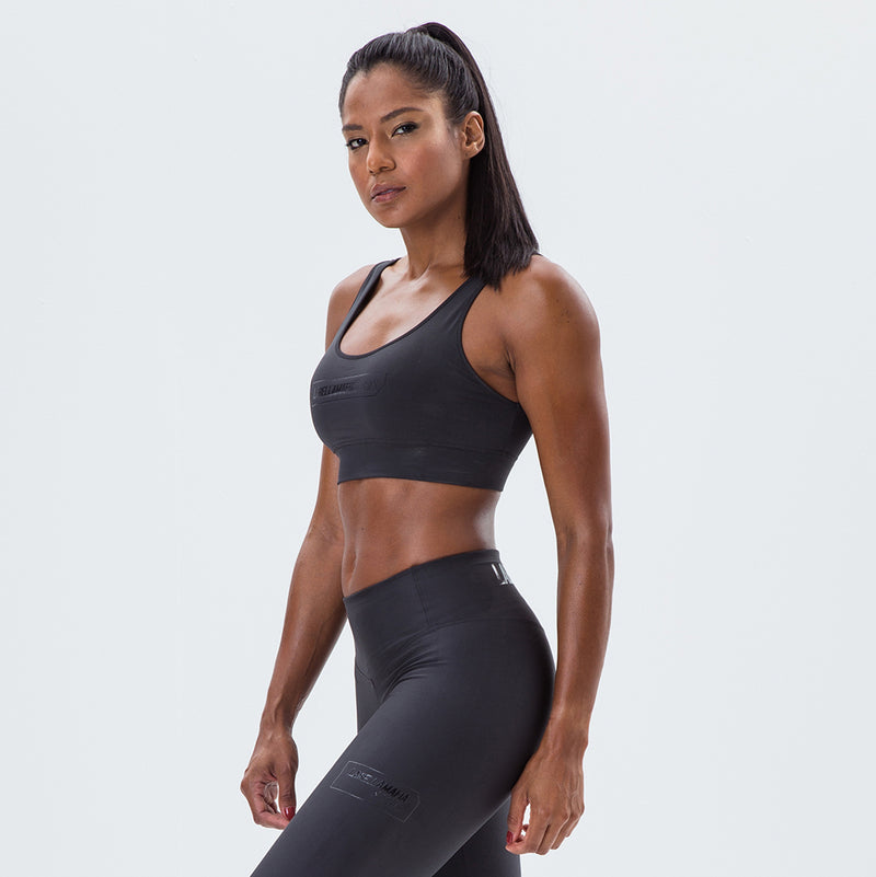 Sports Bra Essentials Labellamafia Sports Black