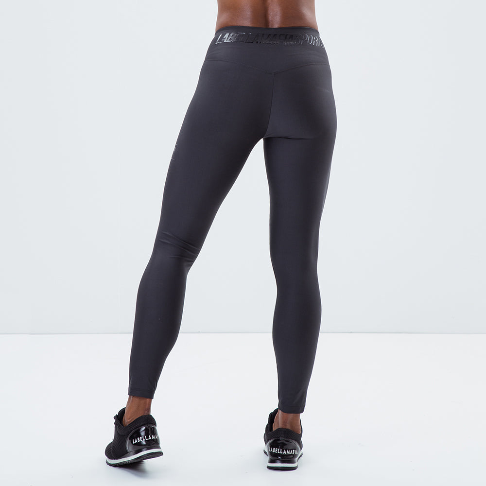Legging Essentials Labellamafia Sports Black