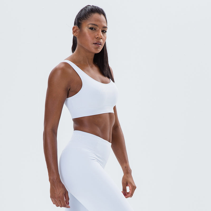 Sports Bra Essentials Labellamafia Sports White