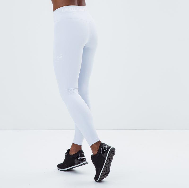 Legging Essentials Labellamafia Sports White