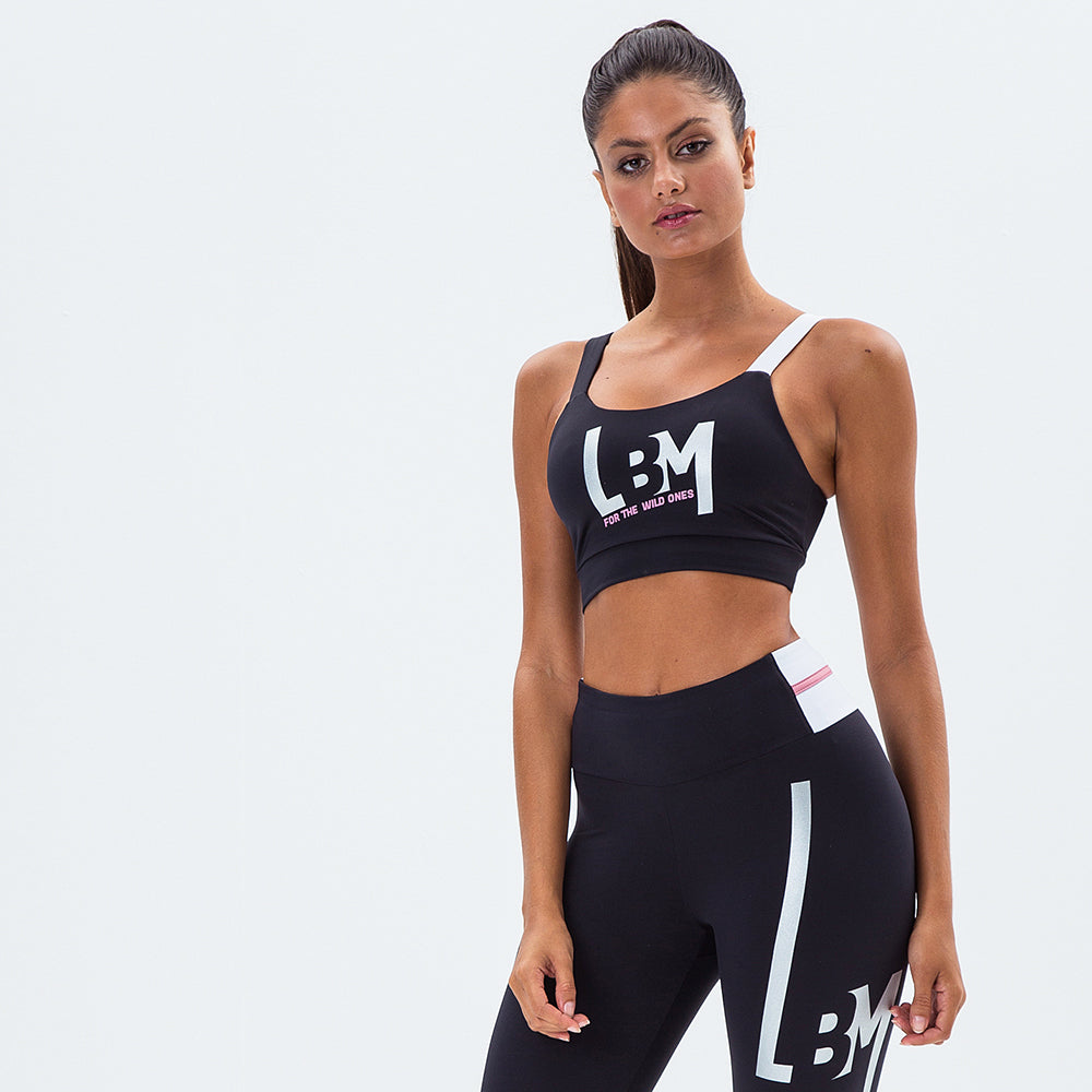Sports Bra Logomania Wild One