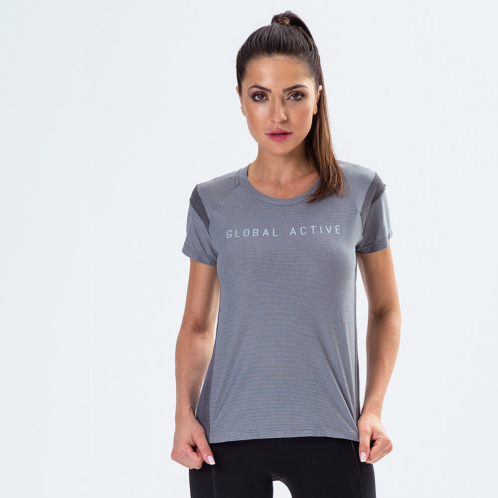 T-Shirt Global Active Storm Gray