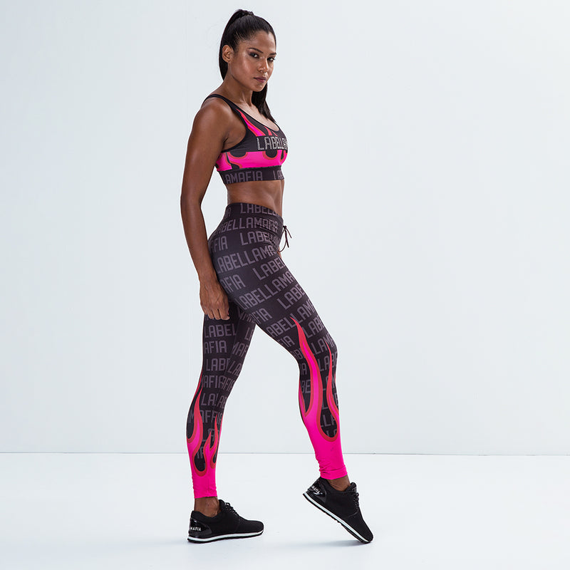 Fitness Set Printed Sets Fire