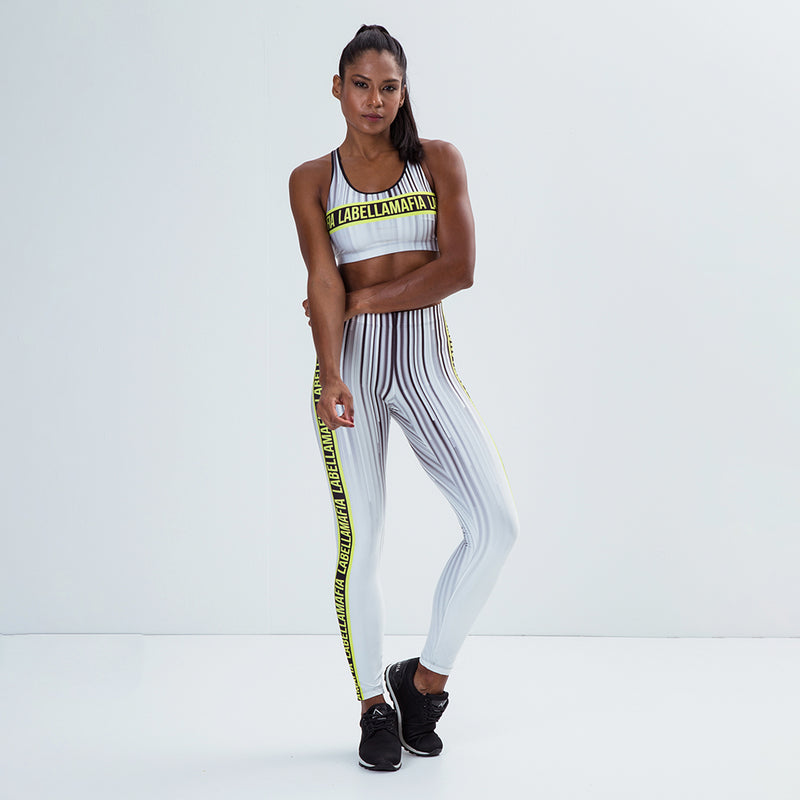 Fitness Set Printed Sets Stripes