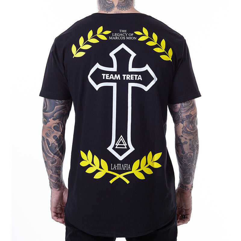 T-Shirt La Mafia Team Treta Black