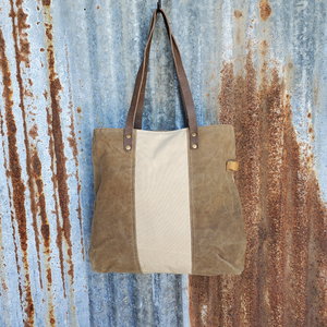 Plain Jane Canvas Tote Back