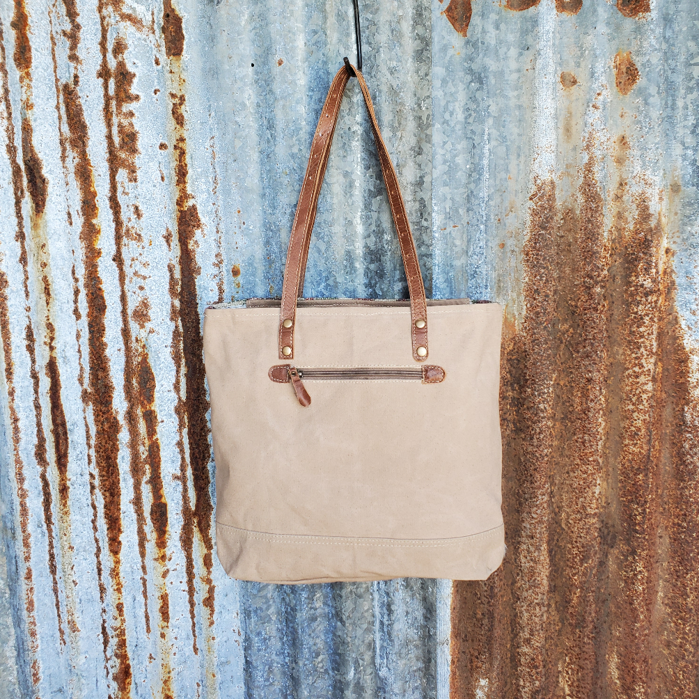 Indian Summer Tote Back