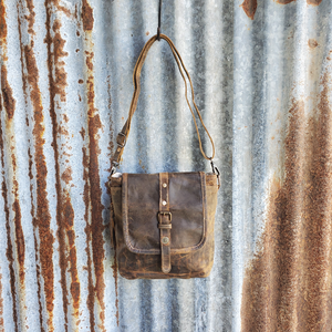 Brown Beauty Crossbody Front