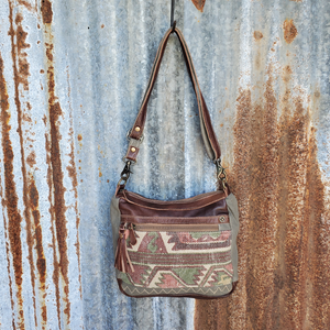Indian Pyramid Cross Body Front