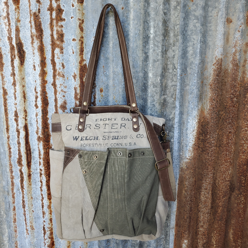 Spring Co Canvas Messenger Front