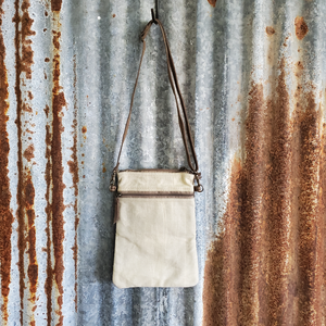 Cream Candlestick Crossbody Back