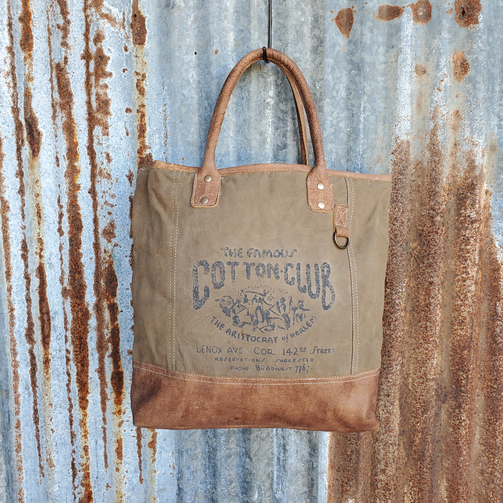 Cotton Club Tote Front