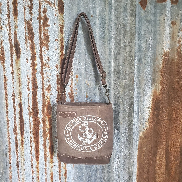 Sea Sick Sailor Cross Body Front